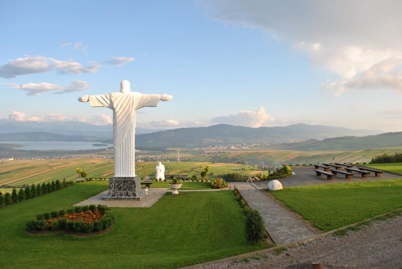 Klin - socha Ježiša Krista
