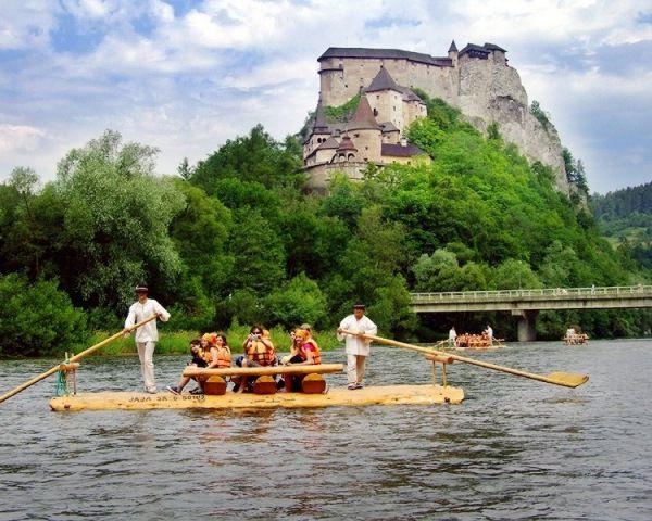 Splav rieky Orava