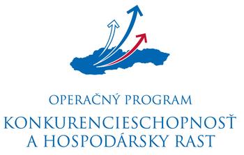 Logo - Konkurencieschopnosť a hospodársky rast